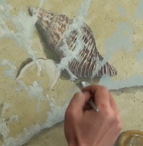 How To Create Sea Foam In Paint Net