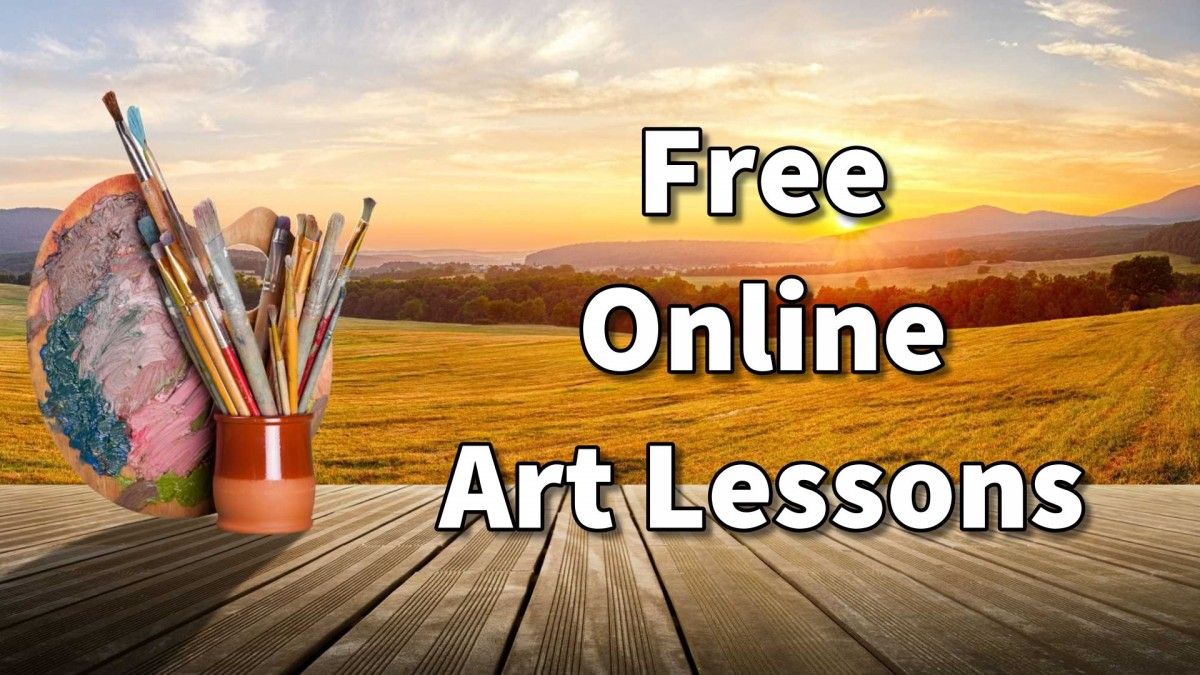 Online art classes lessons and course in painting and Free sketching online