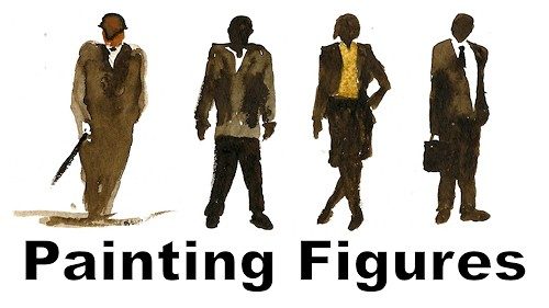 how to add figures to your paintings
