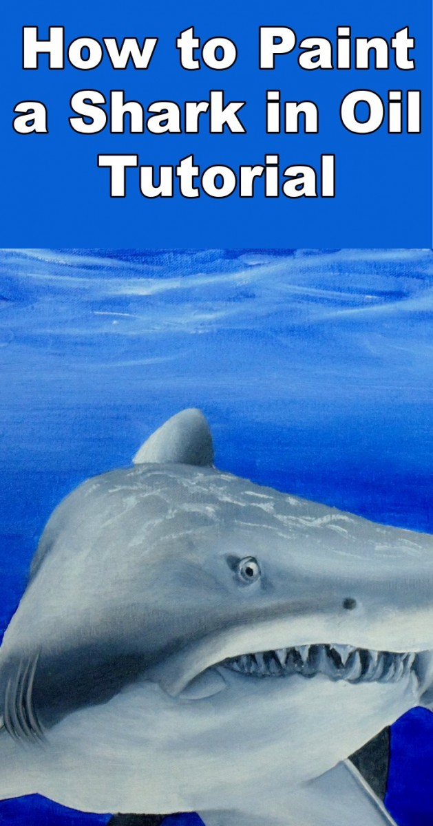 How To Paint A Shark In Oil Online Art Lessons