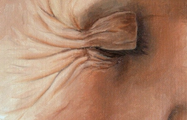 final part of painting wrinkles