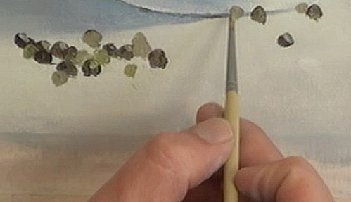 painting the peppercorns