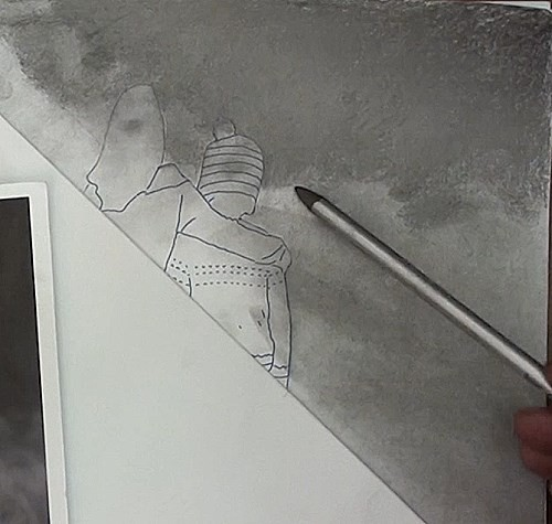 drawing the background