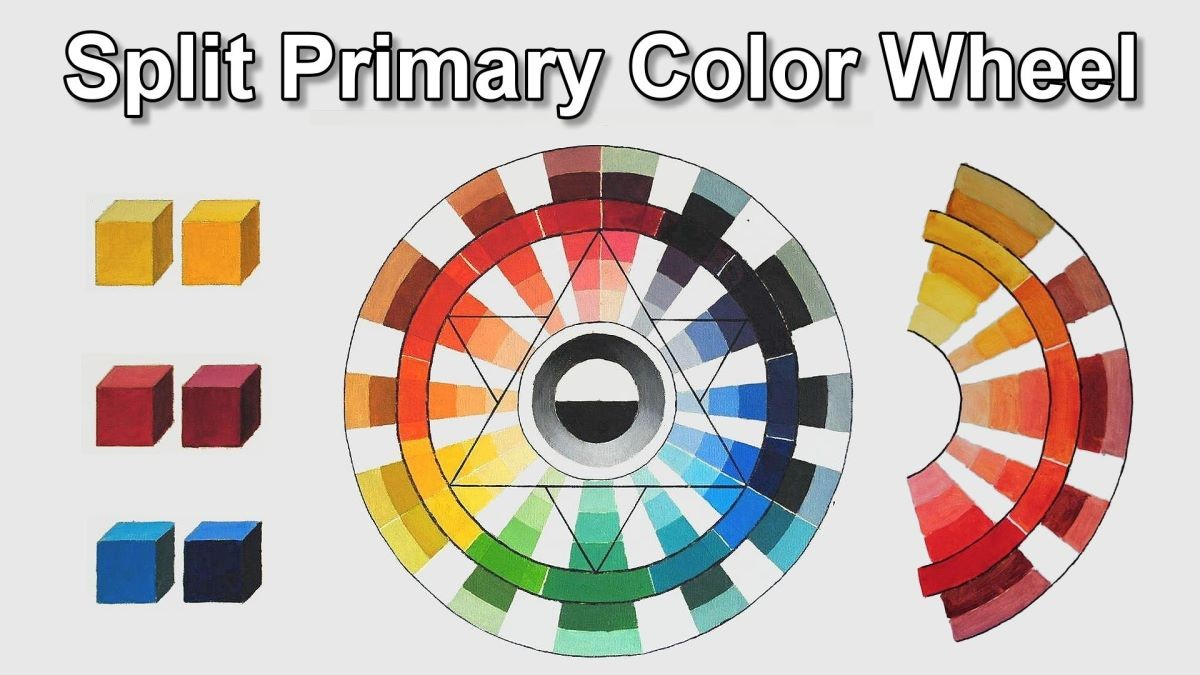 How the split primary color wheel works online art lessons nvjuhfo Gallery