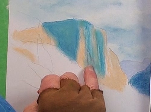 how-to-draw-mist-in-the-mountains-in-pastel-left-cliff