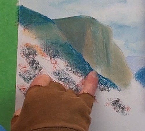 how-to-draw-mist-in-the-mountains-in-pastel-closer-mountain