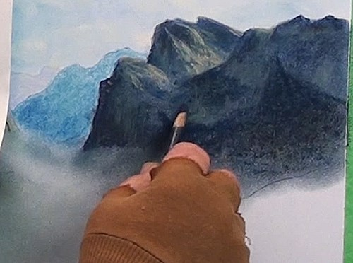 how-to-draw-mist-in-the-mountains-in-pastel-highlight-right-hand-mountain