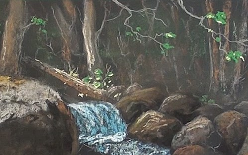 how-to-add-water-small-rapids-in-pastel-tree-trunks