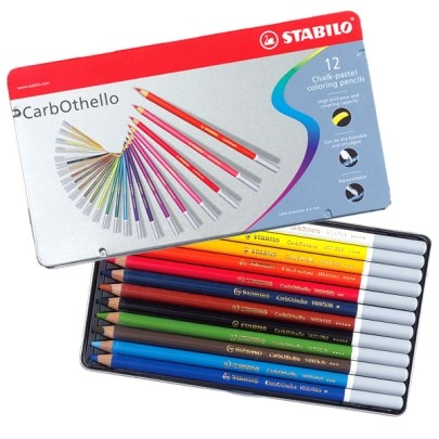 Set of Stabillo CarbOthello Pastel Pencils