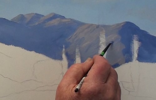 final-painting-mountain-landscape-in-acrylic-sunlit-areas