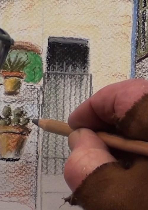 final-drawing-tuscan-stairway-in-pastel-doorway