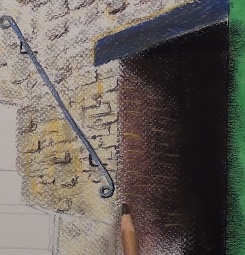 final-drawing-tuscan-stairway-in-pastel-lower-doorway