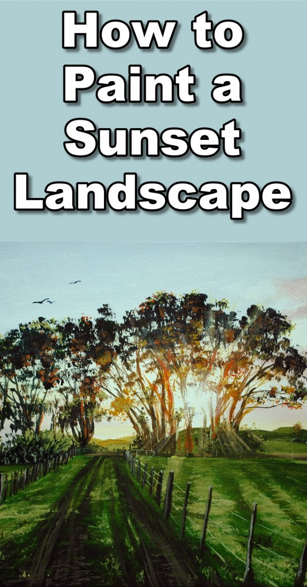 how-to-paint-sunset-landscape-in-acrylic-pin