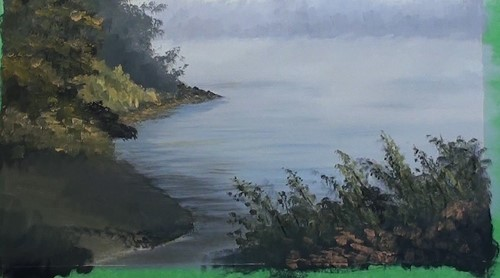how-to-paint-a-misty-lake-in-acrylic-foreground-trees