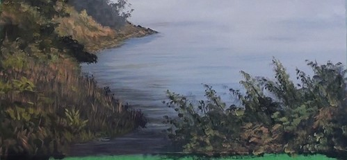 how-to-paint-a-misty-lake-in-acrylic-more-detail-to-foreground