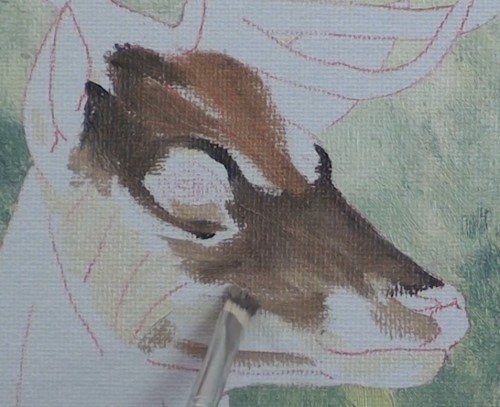 How to Paint a Deer in Oil - Online Art Lessons