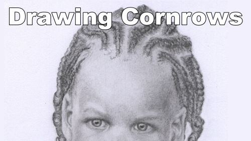 How to draw cornrows