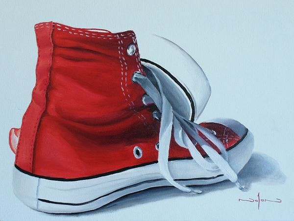 dc1f149a6a336d How to Paint Shoes in Oil — Online Art Lessons