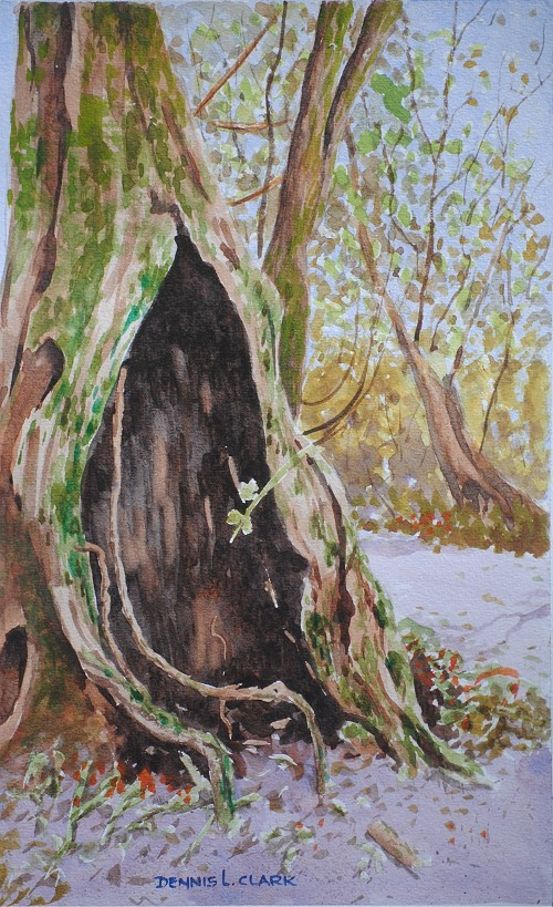 How To Paint Moss With Acrylics
