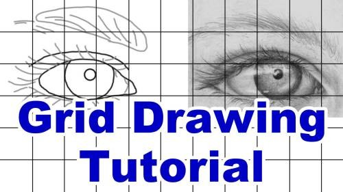 how to draw using the grid