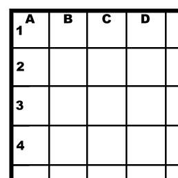 mark each grid block correctly