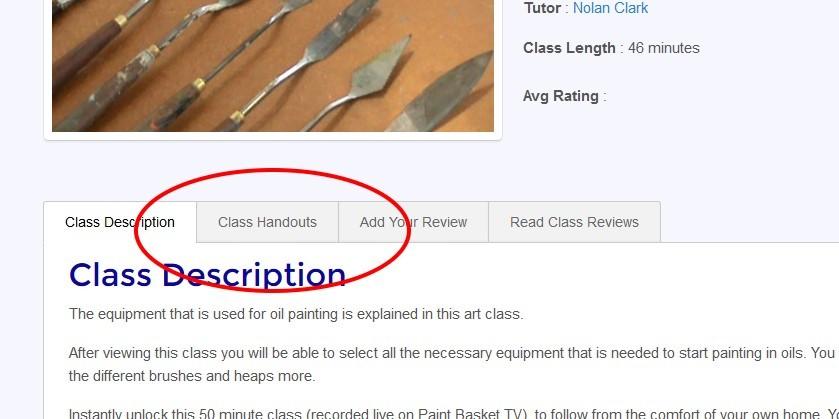 oal-class-handout-tab