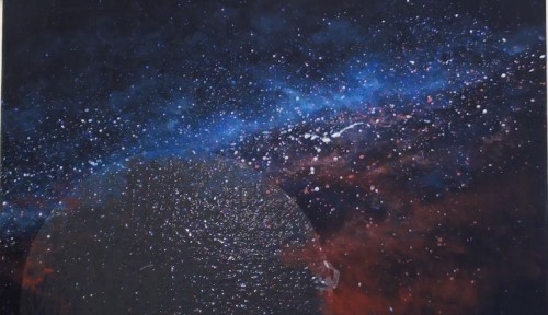 How to Paint the Stars and Moon in Acrylic — Online Art ...