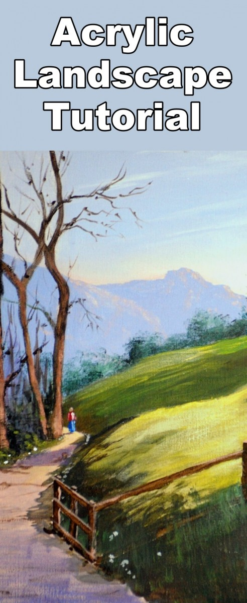 How to Paint an Early Morning Walk in Acrylic — Online Art ...