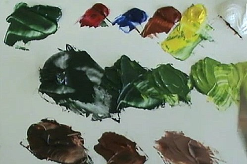 colors that will be used in painting