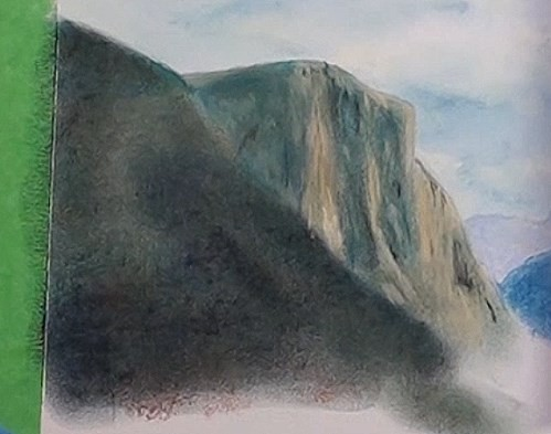 how-to-draw-mist-in-the-mountains-in-pastel-cliff-highlights