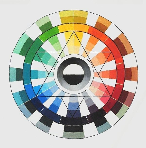 Split primary color wheel