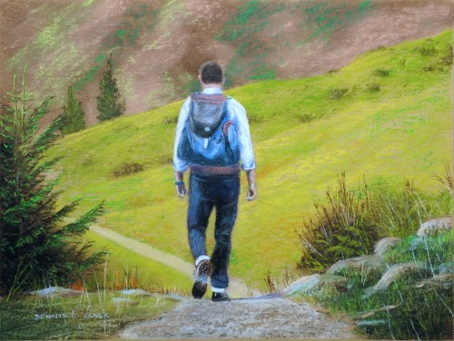 final-drawing-the-hiker-in-pastel