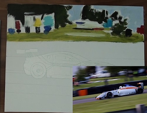 how-to-paint-a-racing-car-in-oil-background