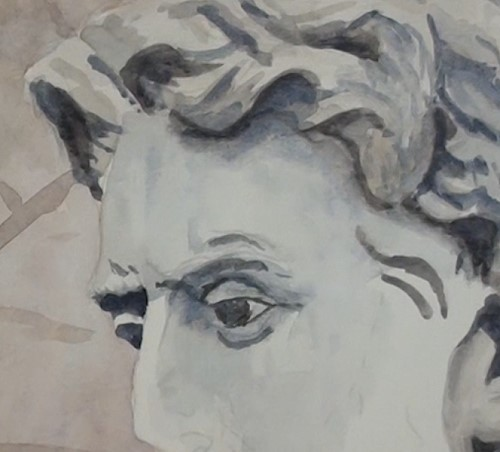 how-to-paint-a-statue-bust-in-watercolor-face