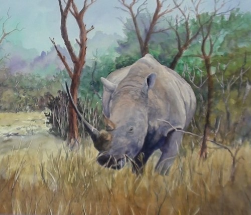how-to-paint-a-rhino-in-watercolor-finishing-touches