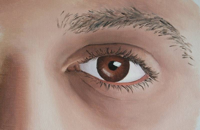 How To Paint An Eye In Oil Online Art Lessons