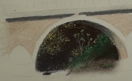 how-to-draw-a-landscape-bridge-in-pastel-bridge