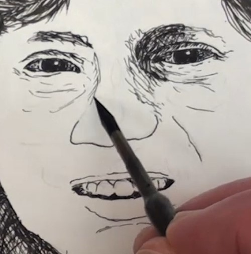 how-to-draw-a-snake-charmer-portrait-in-pen-and-ink-eyes-teeth
