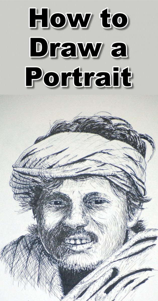 how-to-draw-a-snake-charmer-portrait-in-pen-and-ink-pin