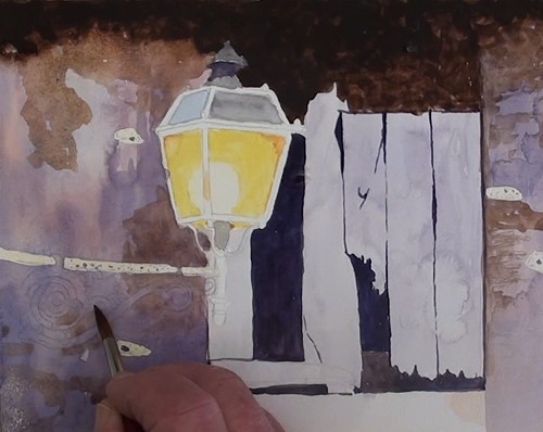 how-to-paint-a-still-life-fancy-lantern-in-watercolor-wall