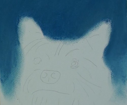 how-to-draw-a-dog-portrait-in-pastel-background