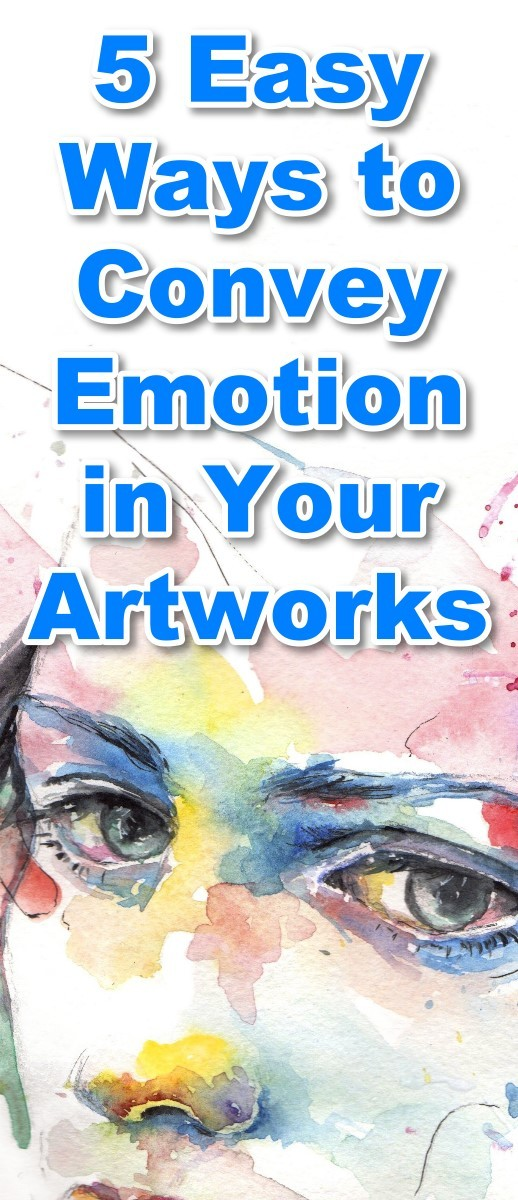 5 Easy Ways to Convey Emotion in Your Artworks. Painting tutorial, art lesson