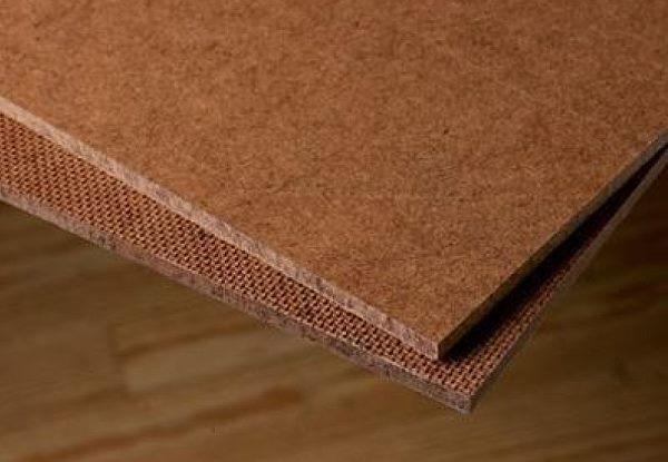 Hardboard canvas
